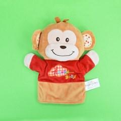 (가베가족베이비) KS2757 원숭이 손인형_(1713859)