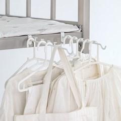 침대 선반 등에 걸어 쓰는 스틸 6P걸이