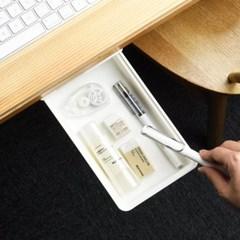 책상 탁자 정리함 미니서랍 주방수납 틈새수납 슬라이드 부착서랍