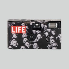 LIFE LOGO SINGLE-USE CAMERA_BLACK