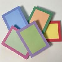vintage color memo pad (mix)