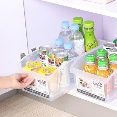 대용량 무빙 냉장고 정리함 바퀴형 정리용기