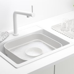 [브라반티아] 워싱업볼트레이(설거지통) 라이트그레이