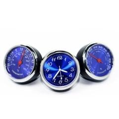 아트로마 블루 차량 시계 온도계 습도계 세트 225001-1