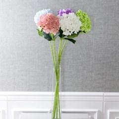 프레쉬수국가지 95cm 조화 인테리어 장식 꽃 FAIAFT