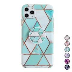 아이폰6 대리석 패턴 스마트톡 커버 젤리 케이스 P550_(3258781)