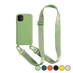 아이폰6S 캔디 컬러 스트랩 커버 젤리 케이스 P035_(3258780)