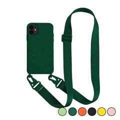 아이폰7플러스 캔디 컬러 스트랩 젤리 케이스 P035_(3258773)