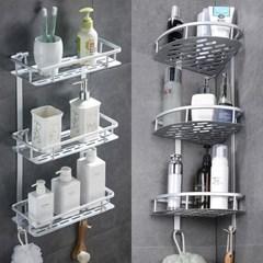 알루미늄 욕실선반 6종 코너선반 일자선반