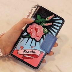 갤럭시S20U (G988)  OrienpopBeauty-Pink 지갑 다이어리_(2861568)