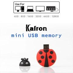 캐릭터 USB 메모리 8GB(무당벌레,충전기,돼지코)_(1700145)