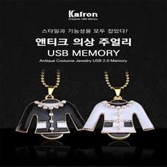 메탈 USB 메모리 8GB(황금부엉이,엔디크의상,복돼지)_(1700140)