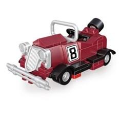 미니 풀백 자동차타입B-3 버건디미니 블럭