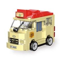 미니 풀백 버스타입C-3 홍콩 관광 버스
