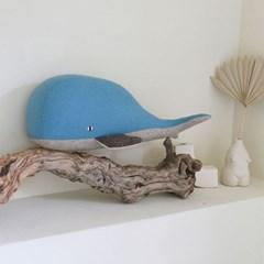 JO, 항유 고래 멸종위기동물 홈데코 인형 48x18cm_(1878877)