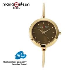 MANGOSTEEN 크로사 MS503B 메탈 여자시계