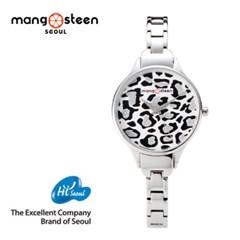 MANGOSTEEN 말라카스 MS508A 메탈 여자시계