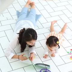 리빙코디 PVC 소프트 놀이방매트 230x140x1.4cm