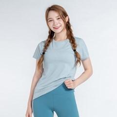 올시즌 스트레치 우먼 티셔츠 DTF0S-3008 스카이