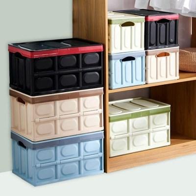 캠핑 밀크 수납장 폴딩 박스