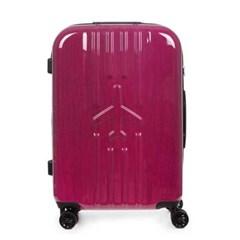 비아모노 VAFS9024 확장형 핑크 24인치 캐리어 여행가방