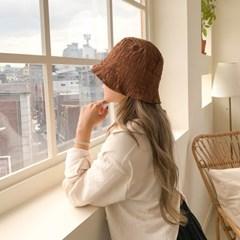 링클 슬림 벙거지 모자 버킷햇 3color
