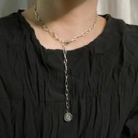 (제작) ALL 써지컬스틸 나침반 목걸이 초커형 남녀공용