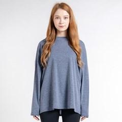 에어핏 보트넥 긴팔 티셔츠 DTF0S-4074 네이비