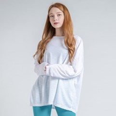 에어핏 보트넥 긴팔 티셔츠 DTF0S-4074 화이트