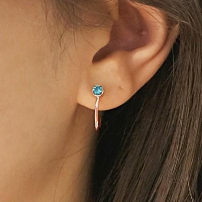 예노 코이 귀걸이0274 4종택일(스와로브스키크리스탈사용)