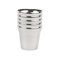 국산 스텐 유광 물컵 5P