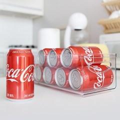 냉장고 정리 맥주캔 음료수 생수 보관홀더 트레이 F20_(1258127)