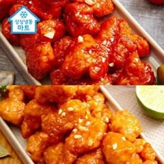 [싱싱냉동마트]BBQ 바로 치킨 강정 [순한맛or매운맛]×5_(11917505)