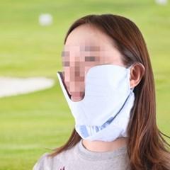 여성 골프 볼마스크 2color 자외선차단 얼굴가리개 등산 농사 마스크