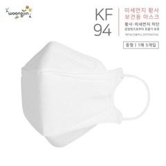 KF94 웅진 황사 미세먼지마스크 중형 50개