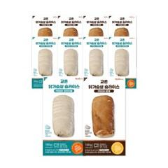 [교촌] 프레시업 슬라이스 닭가슴살 2종 10팩 (오리지널
