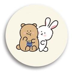 토끼는곰을좋아해 유니하드톡