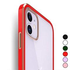 아이폰7플러스 컬러 라인 젤리 커버 젤리 케이스 P187_(3272875)