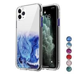 아이폰12 마블 패턴 심플 커버 젤리 케이스 P448_(3283548)