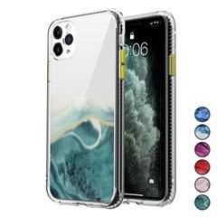 아이폰12맥스 마블 패턴 심플 커버 젤리 케이스 P448_(3283547)