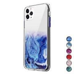 아이폰12프로 마블 패턴 심플 커버 젤리 케이스 P448_(3283546)