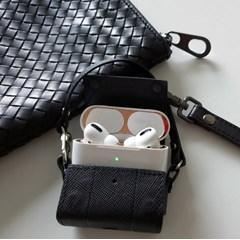 릿에어(LitAIR) - 분실방지, 터치리모컨 기능 에어팟가죽케이스