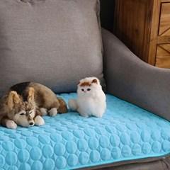 코코펫 애견 쿨매트(60x50cm) (블루)