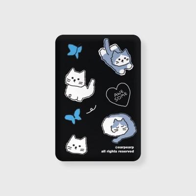 Awesome cat-black(무선충전보조배터리)_(1660134)