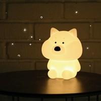 모찌타운 시바 쿠 LED 충전식 무드등 캐릭터조명