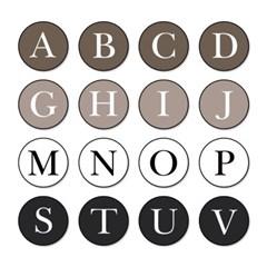 토디토 차량용방향제 송풍구 자동차디퓨저-알파벳