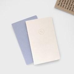 [2021날짜형]21 HALF DIARY set_cream,lilac