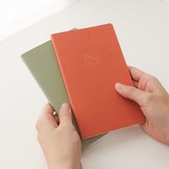 [2021날짜형]21 HALF DIARY set_orange,green