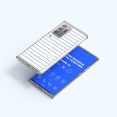 코비드19 스마트 레이어 커버 갤럭시 노트 20 울트라