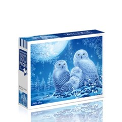 [토이앤퍼즐]Owl-My-Little-Angels(달빛 아래 올빼미 가족)150PCS